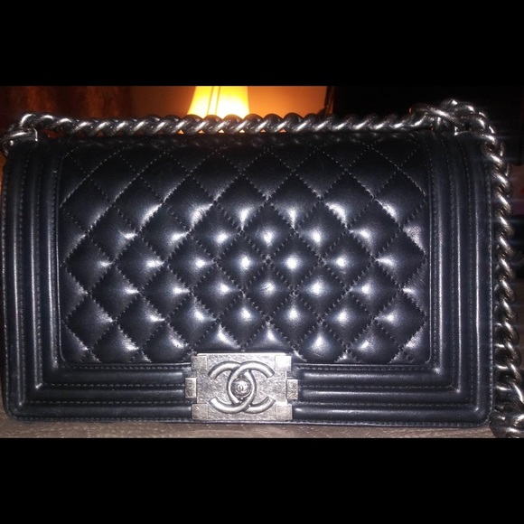 5312140c0535 CHANEL Bags | Authentic Boy Bag | Poshmark